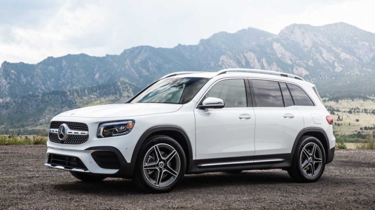 The Mercedes-Benz GLB with ambient lighting & sunroof at no extra cost!