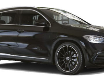 The Mercedes-Benz GLA with ambient lighting & sunroof at no extra cost!